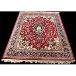 Fascinating Fine Quality Tabriz Design Rug