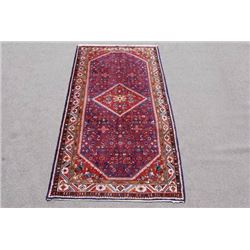 VERY BEAUTIFUL HAND WOVEN SEMI-ANTIQUE PERSIAN SAROUK