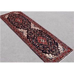Fine Hand Woven Persian Malayer Runner 10x3