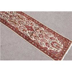 Simply Beautiful Genuine Handmade Persian Heriz Runner