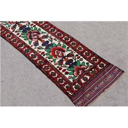 Beautiful Hand Woven Persian Balooch Runner 13 ft