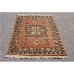 BEAUTIFUL HANDMADE SEMI ANTIQUE TURKISH KONYA RUG