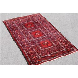 VERY BEAUTIFUL HAND MADE PERSIAN HAMEDAN RUG