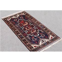 NICE LOOKING HAND WOVEN AUTHENTIC PERSIAN BALOOCH RUG