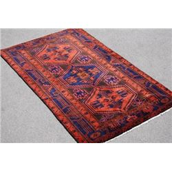 FANTASTIC HAND MADE PERSIAN KURDISH KOLYAEE RUG