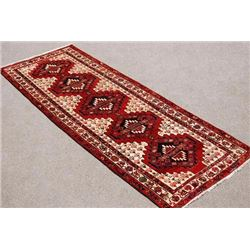 Visually Appealing Hand Woven Semi Antique Persian Tabriz