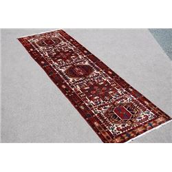 BEAUTIFUL FINE QUALITY SEMI ANTIQUE HAND WOVEN PERSIAN MEGHIN