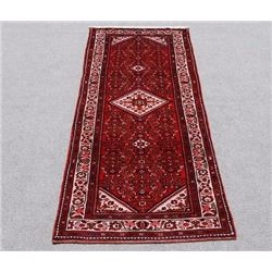 Persian Geometric Malayer Runner 10 ft