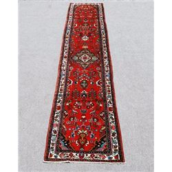 Collectible Rare Persian Heriz Runner