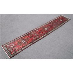 Luxurious Hand Woven 2.6 X 14.3 feet Persian Malayer Runner