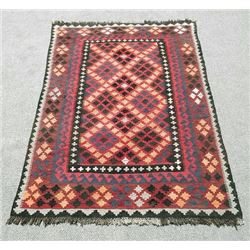 Authentic Semi Antique Kilim Rug