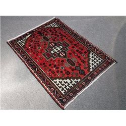 Delicate Hand Woven Authentic Hamedan Rug