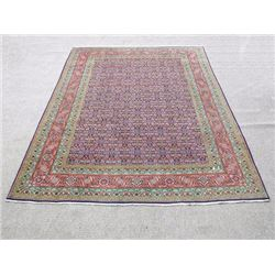 Collectible and unique Hand woven Persian Tabriz Rug