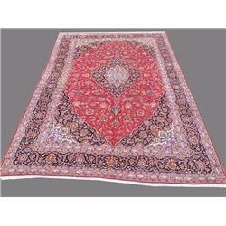Exquisite Fine Quality Handmade Persian Kashan Rug