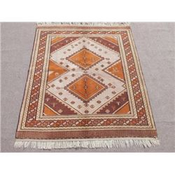 Beautiful Fine Quality Semi Antique Oashak Design Turkish Rug 6x8