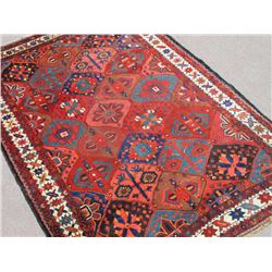 Stunning Hand Woven Semi Antique Persian Bakhtiari Rug 7x10