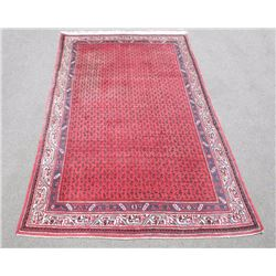 Simply Splendid Handmade Semi Antique Persian Sarouk Mir
