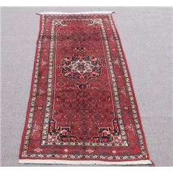 Simply Stunning Handmade Semi Antique Persian Bordjalou Rug 5x11