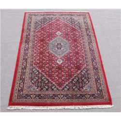 Gorgeous Deeply Detailed Bidjar Design Indo Rug 7x10