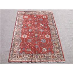 Gorgeous Nice Colors  Semi Antique Allover Turkish Rug 7x10