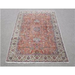 Extremely Gorgeous Allover Semi Antique Persian Tabriz Rug
