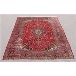 Extremely Gorgeous Semi Antique Persian Kashan Rug