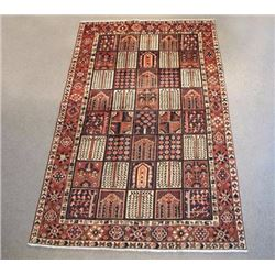 Four Seasons Semi Antique Persian Bakhtiari 7x10