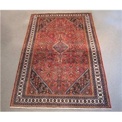 Absolutely Stunning Semi Antique Persian Hosseinabad 7x10