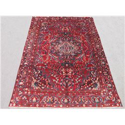 Highly Detailed Hand Woven Semi Antique Persian Lilian 9x13
