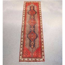 Captivating Warm Toned Persian Sarab Runner 10ft