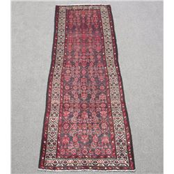 Simply Beautiful Semi Antique Persian Malayer Runner 10ft