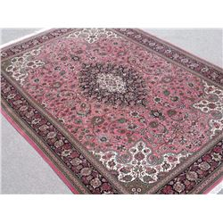 Finest Quality Authentic Persian Royal Qum Silk and Kork