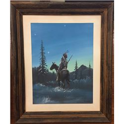 Original Painting by White Buffalo (Kiowa)