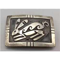 Hopi Belt Buckle - Ross Joseyesva