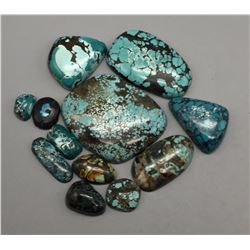 Approx. 500 Cts. Spiderweb Turquoise