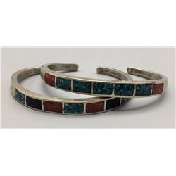 Pair of Vintage Inlay Bracelets