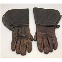 Vintage Leather Gauntlets