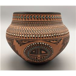 Navajo Etched Pottery - Romero