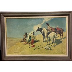 Frederic Remington Canvas Transfer Print