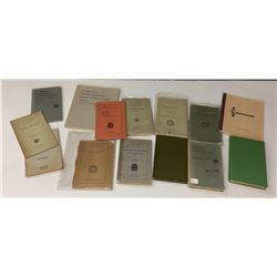Group of 15 Ethnographic Journals - Books