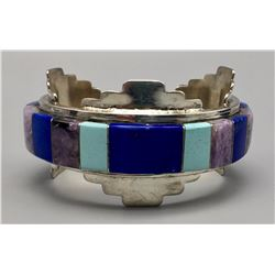 Multi-stone Inlay Bracelet