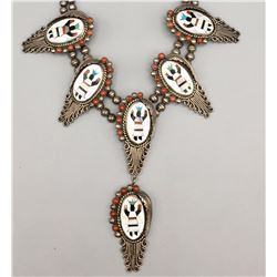 Vintage Inlay Necklace