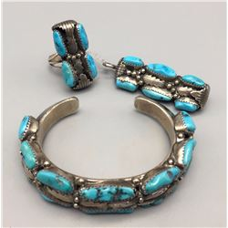 Turquoise Bracelet Ring and Pendant