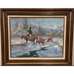 Original Oil on Canvas - Fred Oldfield