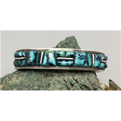High Grade Turquoise Inlay Bracelet