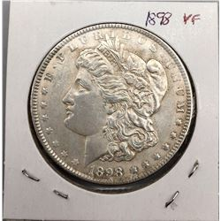 Very Nice 1898 Morgan Silver Dollar