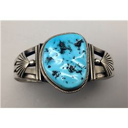 Turquoise and Sterling Bracelet - Arviso