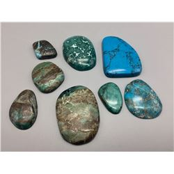 Turquoise Cabochons, Approx 500 Ct