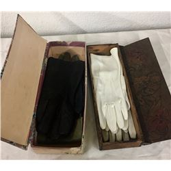 Antique Gloves and Boxes