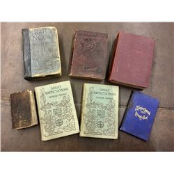 Group of 7 Antique Books
